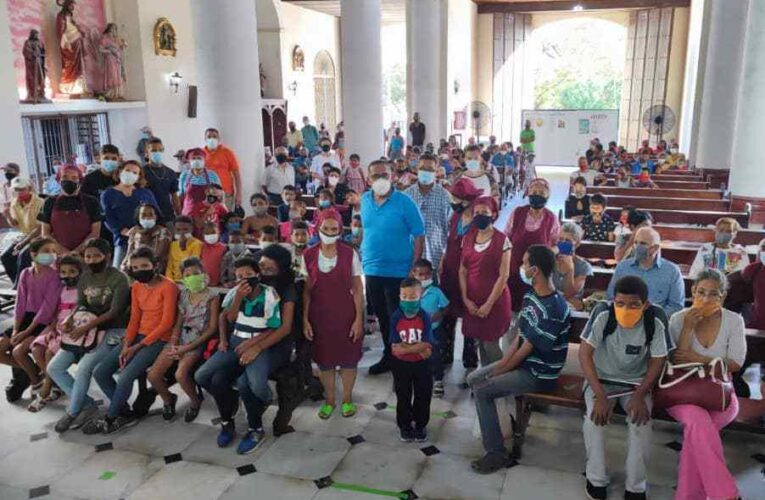 Comedor parroquial de Maiquetía cumplió 5 años de labor social