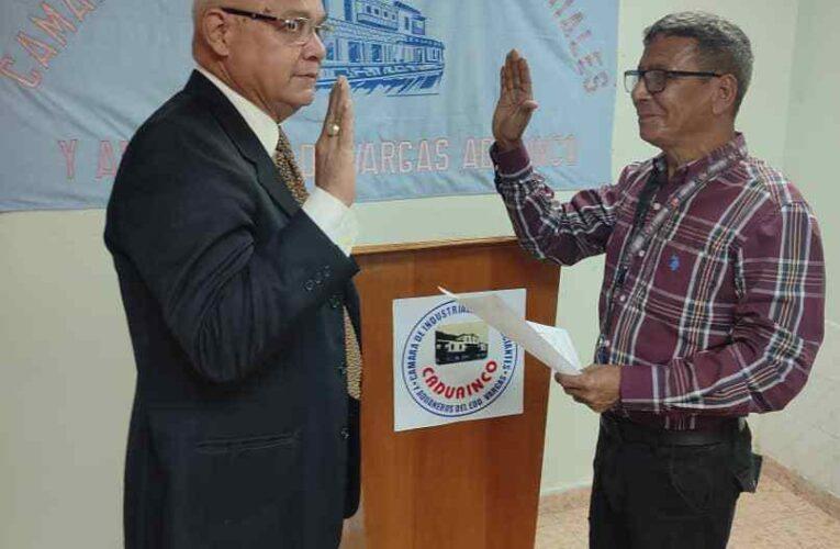 Rusvel Gutiérrez fue reelecto como presidente de Caduainco