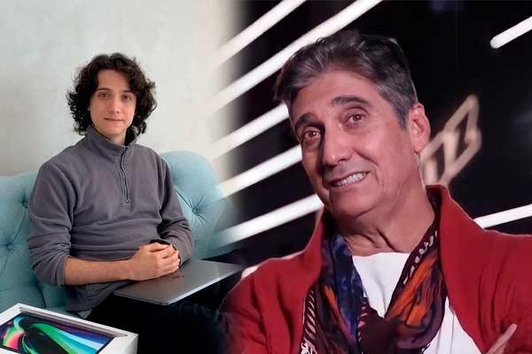 Guillermo Dávila reconoció a Vasco como su hijo