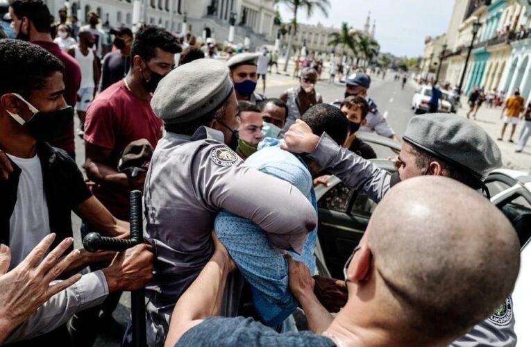 Piden a la UE sancionar a violadores de los DDHH en protestas en Cuba