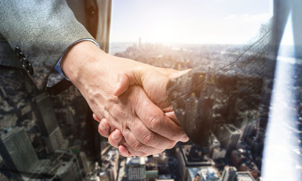 real estate handshake