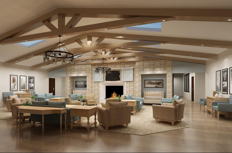 Senior Living Interior - Mosaic