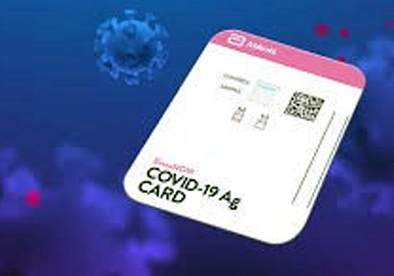 COVID-19 Ag Card