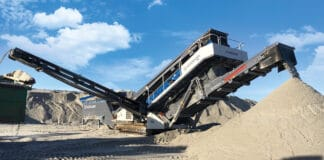 Kleemann's MC 120 Zi PRO Jaw Crushing Plant for Quarries
