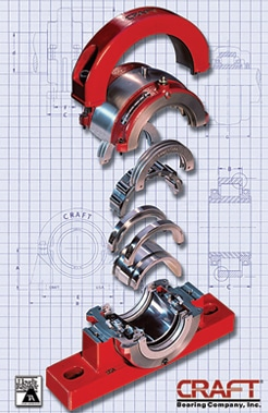 Craft Split Roller Bearings