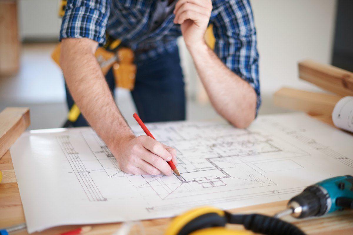 Amendments on blueprint of house