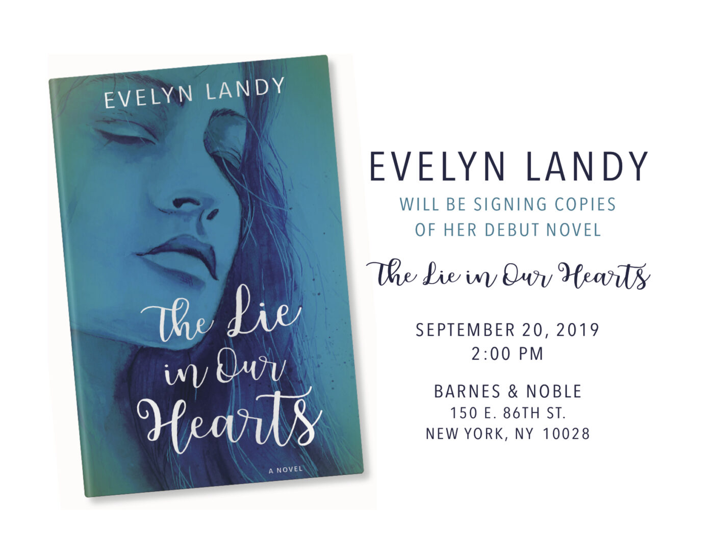 Evelyn's Book Signing