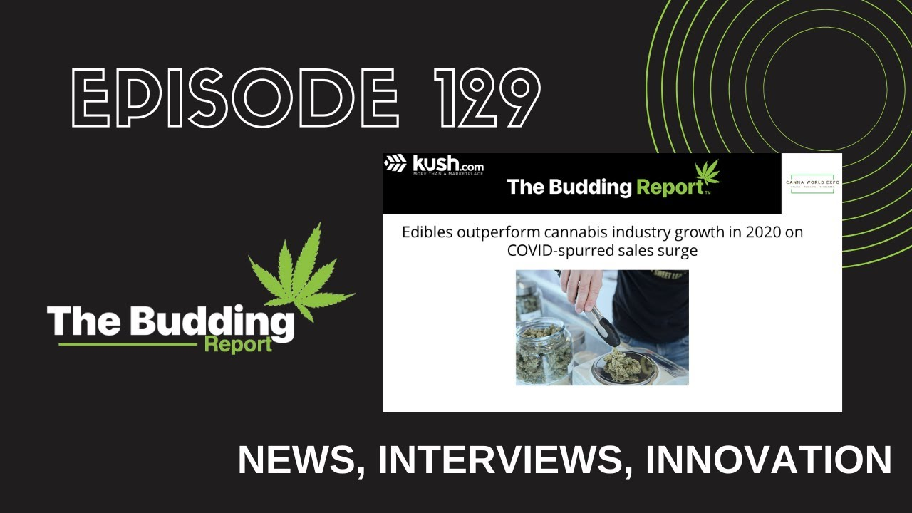 TBR 129   Edibles outperform cannabis industry growth in 2020   Marvin Washington & Will Carr - youtube