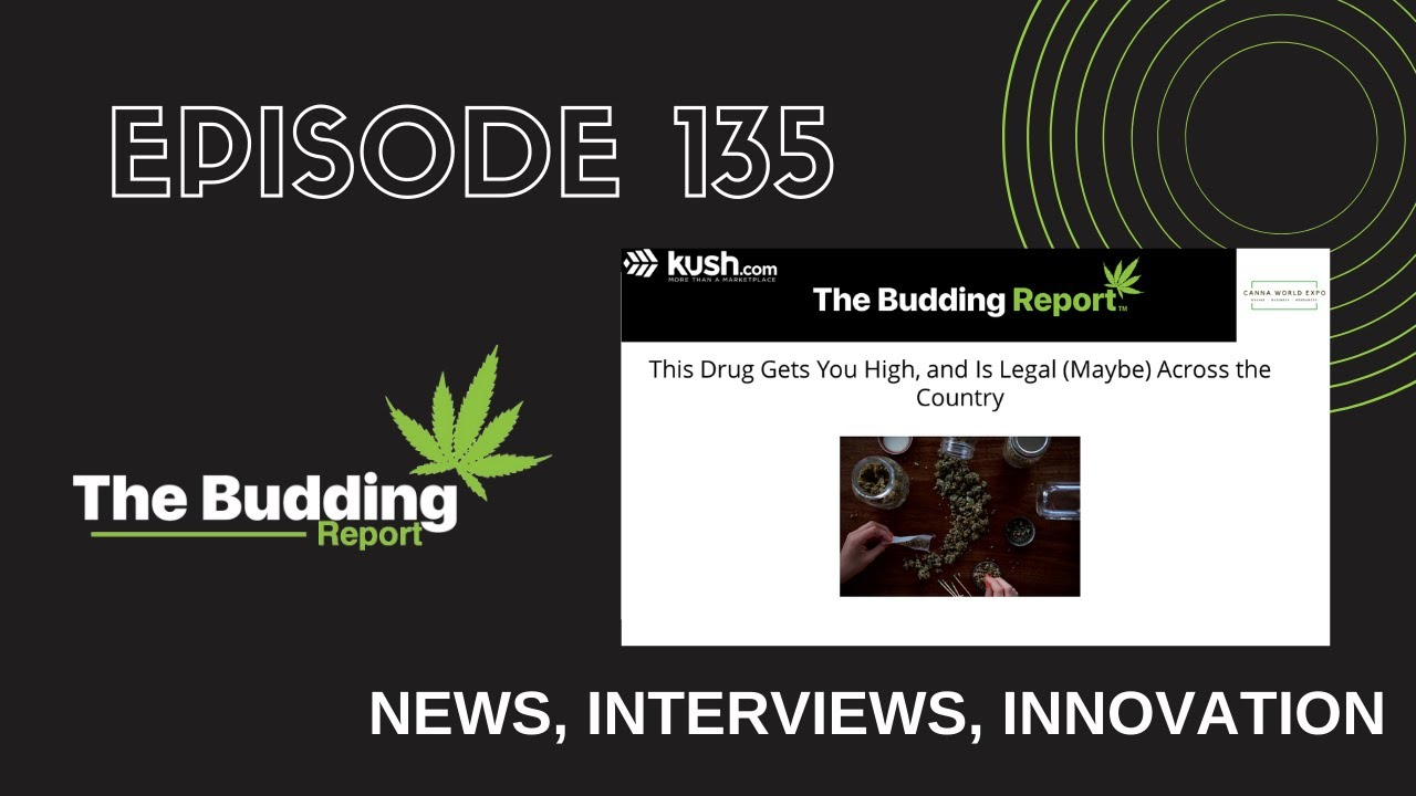 TBR 135 | This Drug Gets You High, Is Legal (Maybe) Across the Country | Matt Carr & Shayda Torabi - youtube