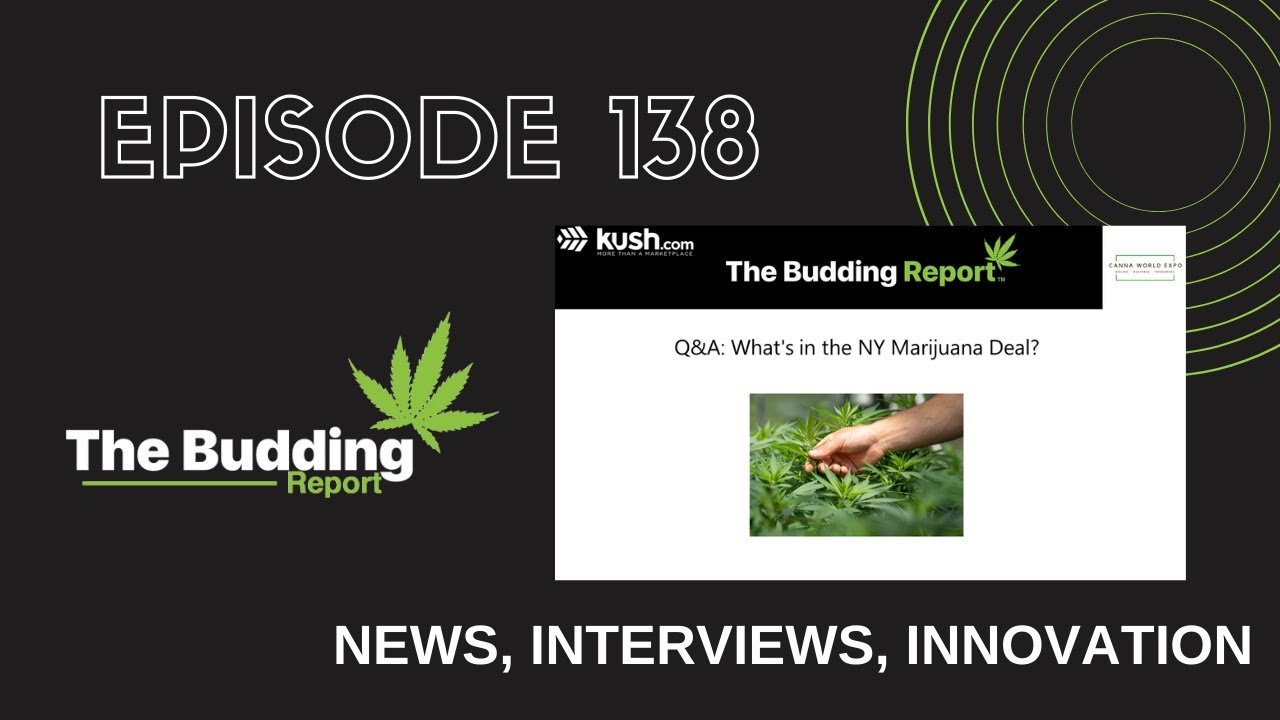 TBR 138 | Q&A: What's in the NY Marijuana Deal? | Becca Williams RDN, CCN & Elana Cohen - youtube