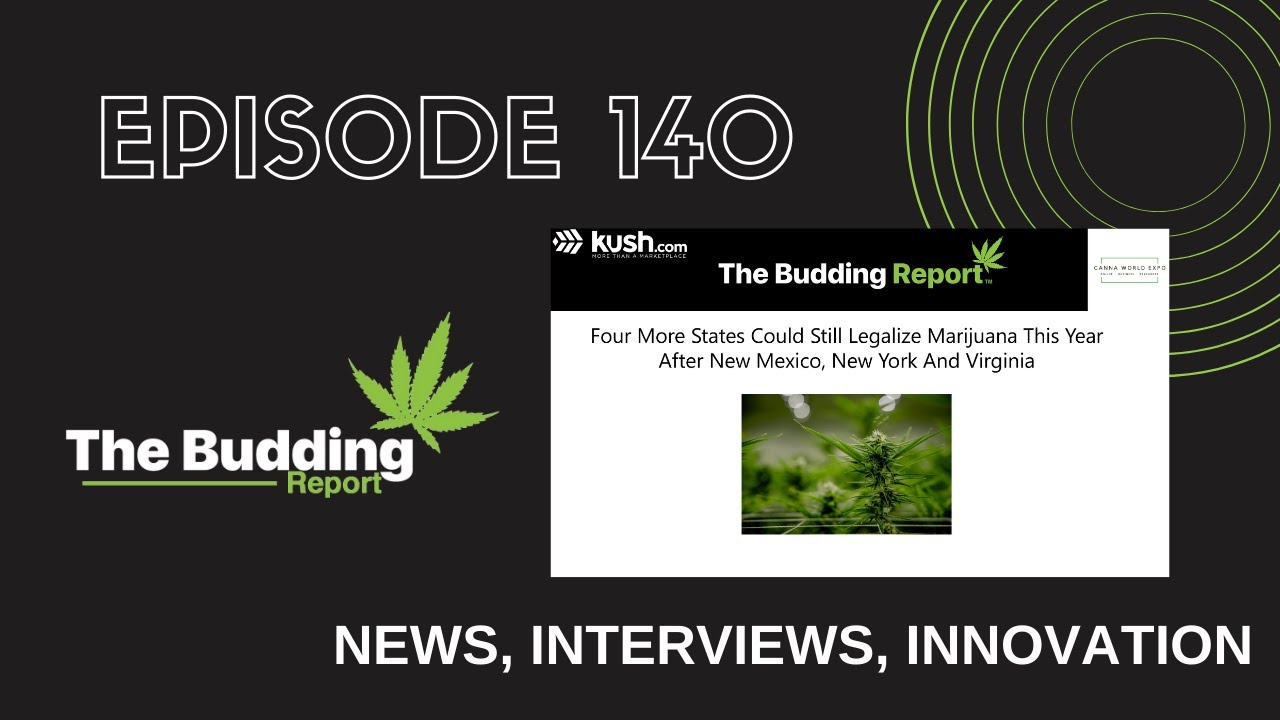 TBR 140 | 4 More States Could Still Legalize Marijuana This Year | Nick Warrender & Nathaniel Gurien - youtube