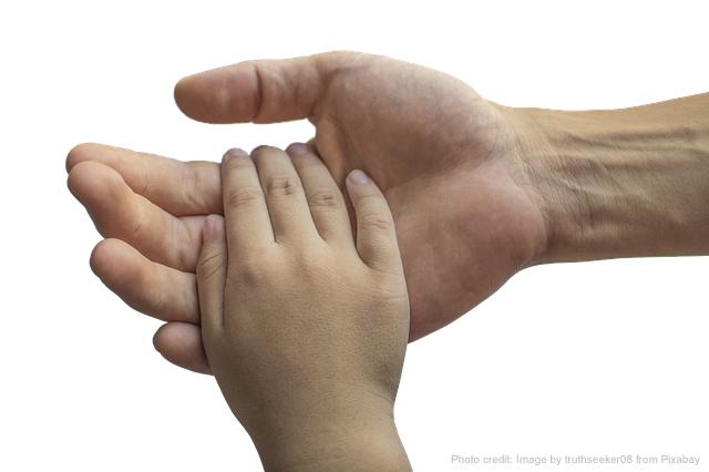 hold God's hand