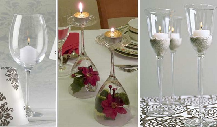 8 Decoration Options With Candles In Cups inverted