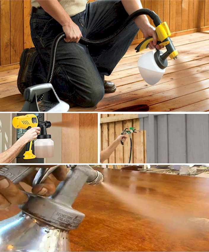 Treatment and Protection of Wood by Brushing