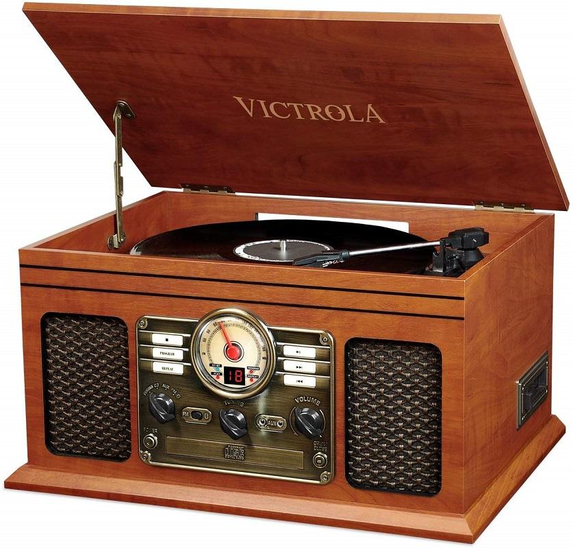 Victrola & Phonograph Decor Vintage