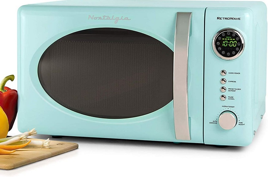 Decor Kitchen Vintage - Retro Microwave