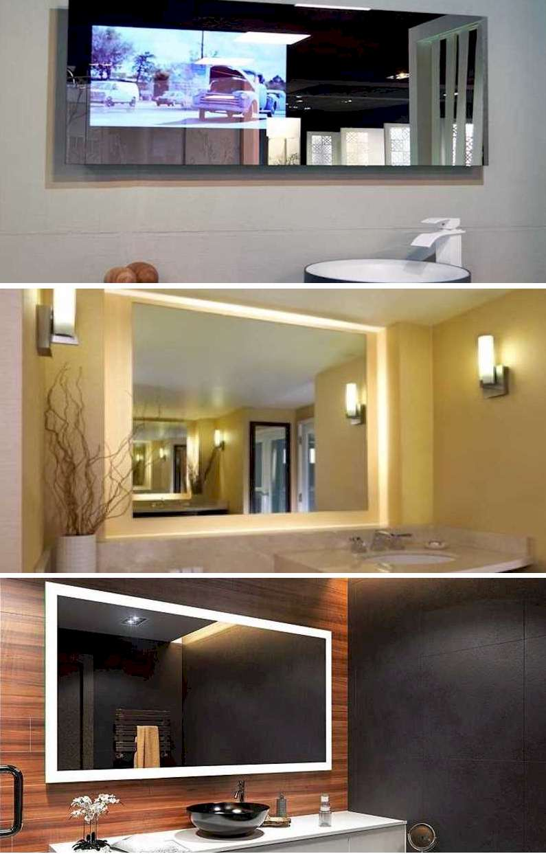 Smart Mirrors - Different Lighting Modes