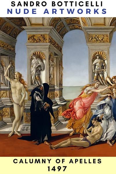 Sandro Botticelli Nude Artworks & Paints - 1497