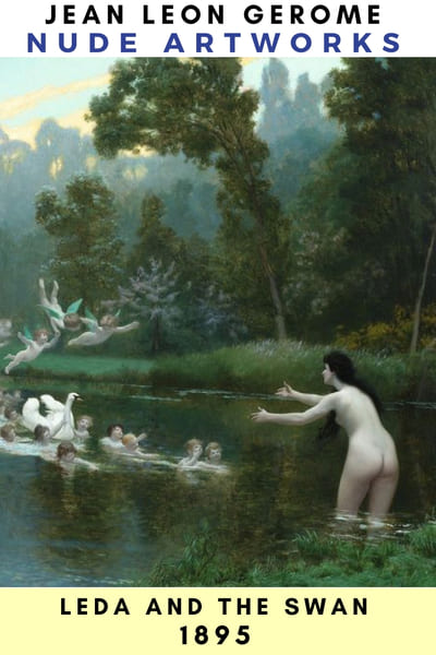 Leda and The Swan Lean Gerome