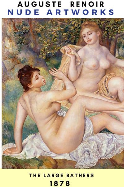 Nude Artworks & Painting - Renoir