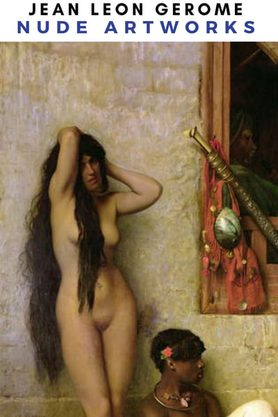 Jean Leon Gerome Nude Artworks Poster - Slaves