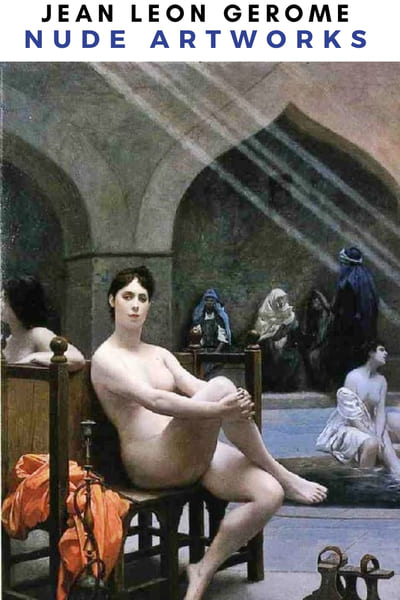 Jean Leon Gerome Naked Artworks Poster -  Woman Nude