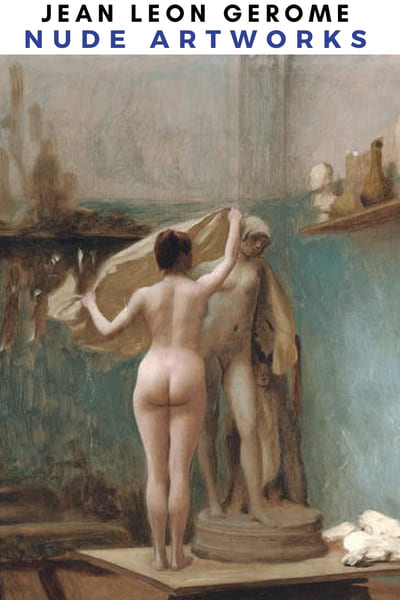 Jean Leon Gerome Nude Painting Poster