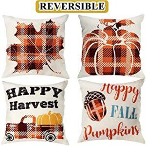 Fall Decor Throw Pillow Covers Ideas
