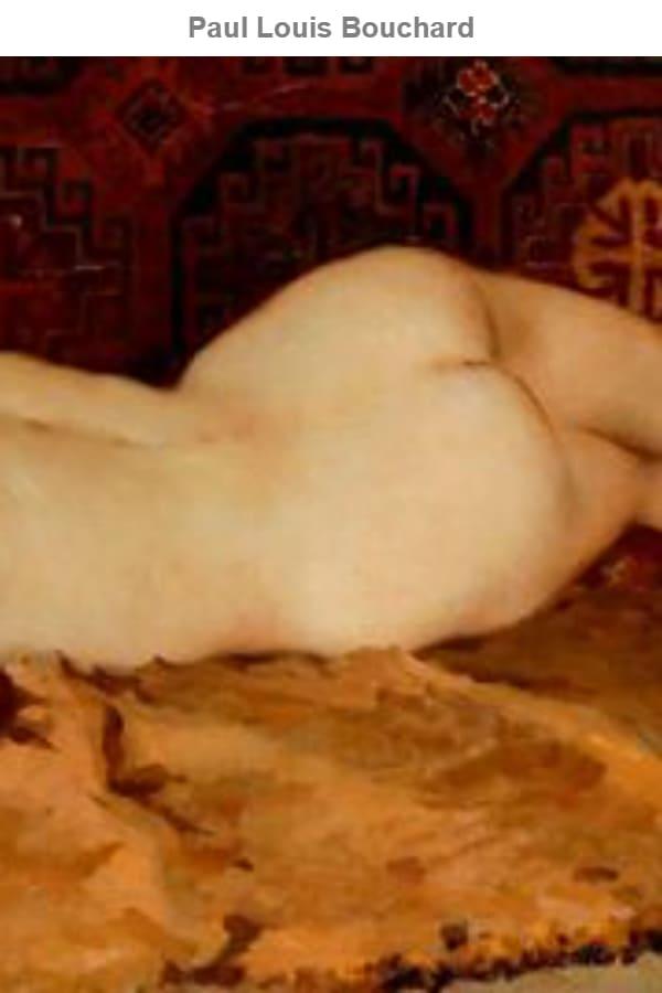 Louis Bouchard Nude Painting