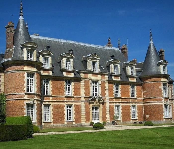 Castle of Miromesnil -Louis XIII Style - Architecture