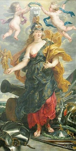 Marie de Medicis as Bellona - Rubens