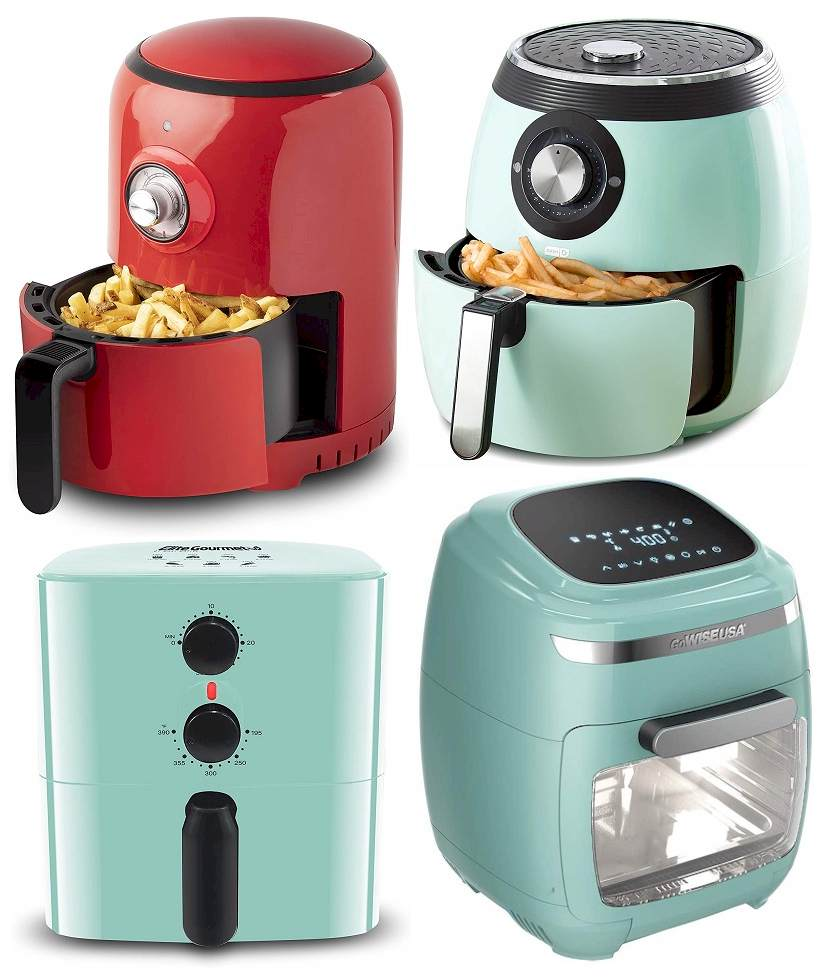 Does an Air Fryer Decorate the Kitchen? Retro Air Fryer 2021