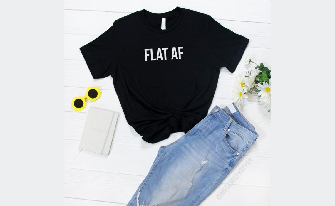 FLAT AF - Grit and Glitter - Emily Hopper