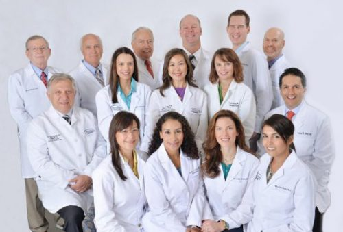 group photo of MetroDerm providers, a First-Class Practice