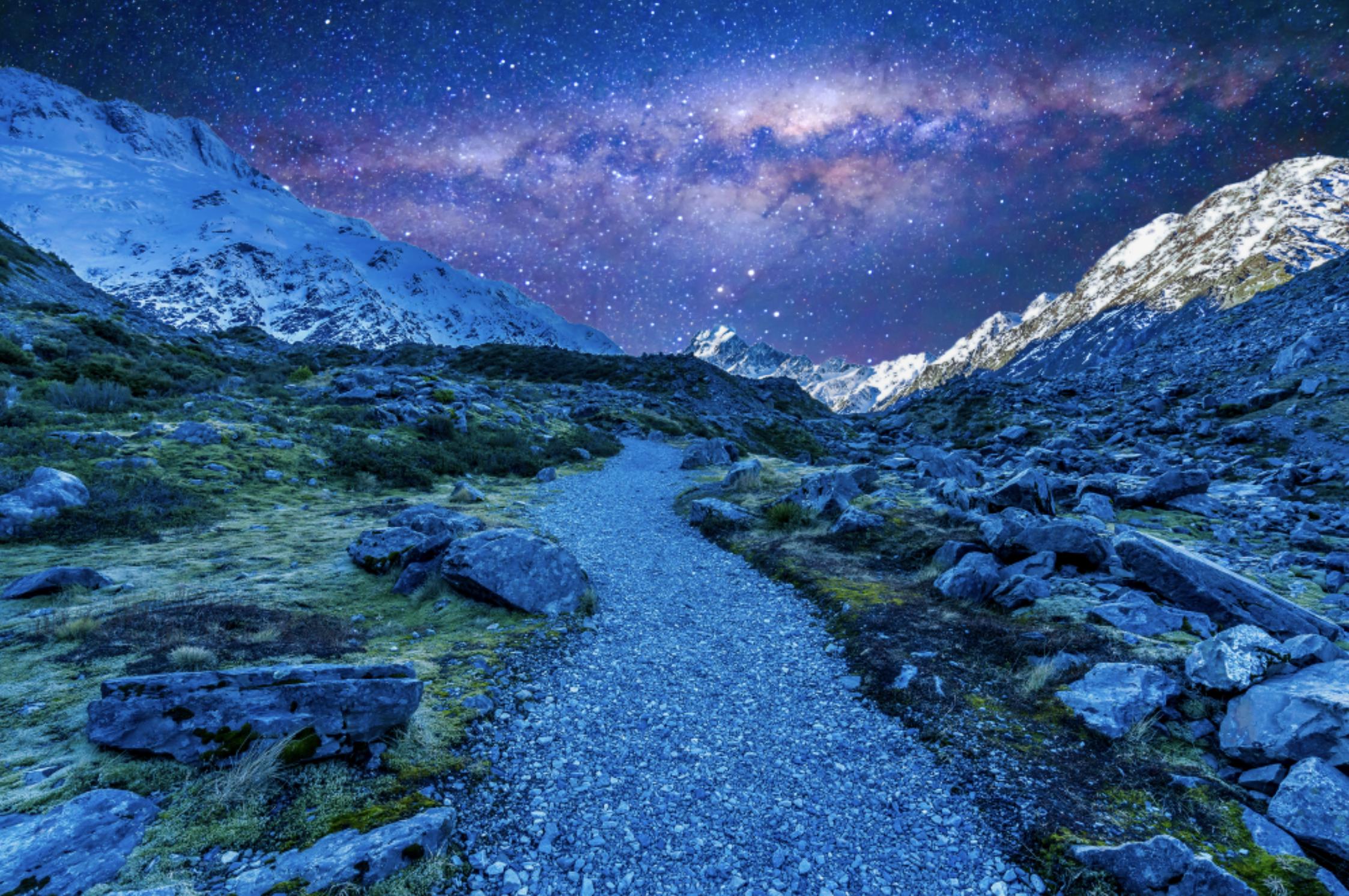 Aoraki/Mt. Cook National Park, New Zealand
