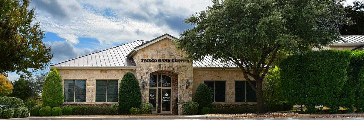 Frisco Hand Center practice office located in Frisco Bridges Office Park