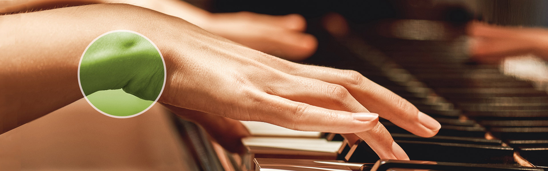 Carpal Tunnel Syndrome Repetitive-motion or Piano Practice and Performance