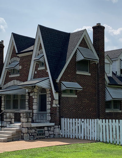 CJS Roofing St Louis steep roof replacement