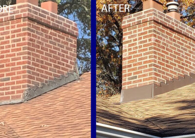 St. Louis Before/After Chimney Replacement