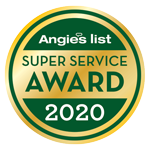 Industry Awards Angie's LIst Super Service Award 2020 CJS Roofing