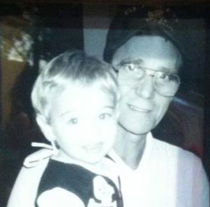 Heather's Dad with son Dalton