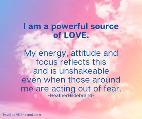 I am powerful quote by Heather Hildebrand