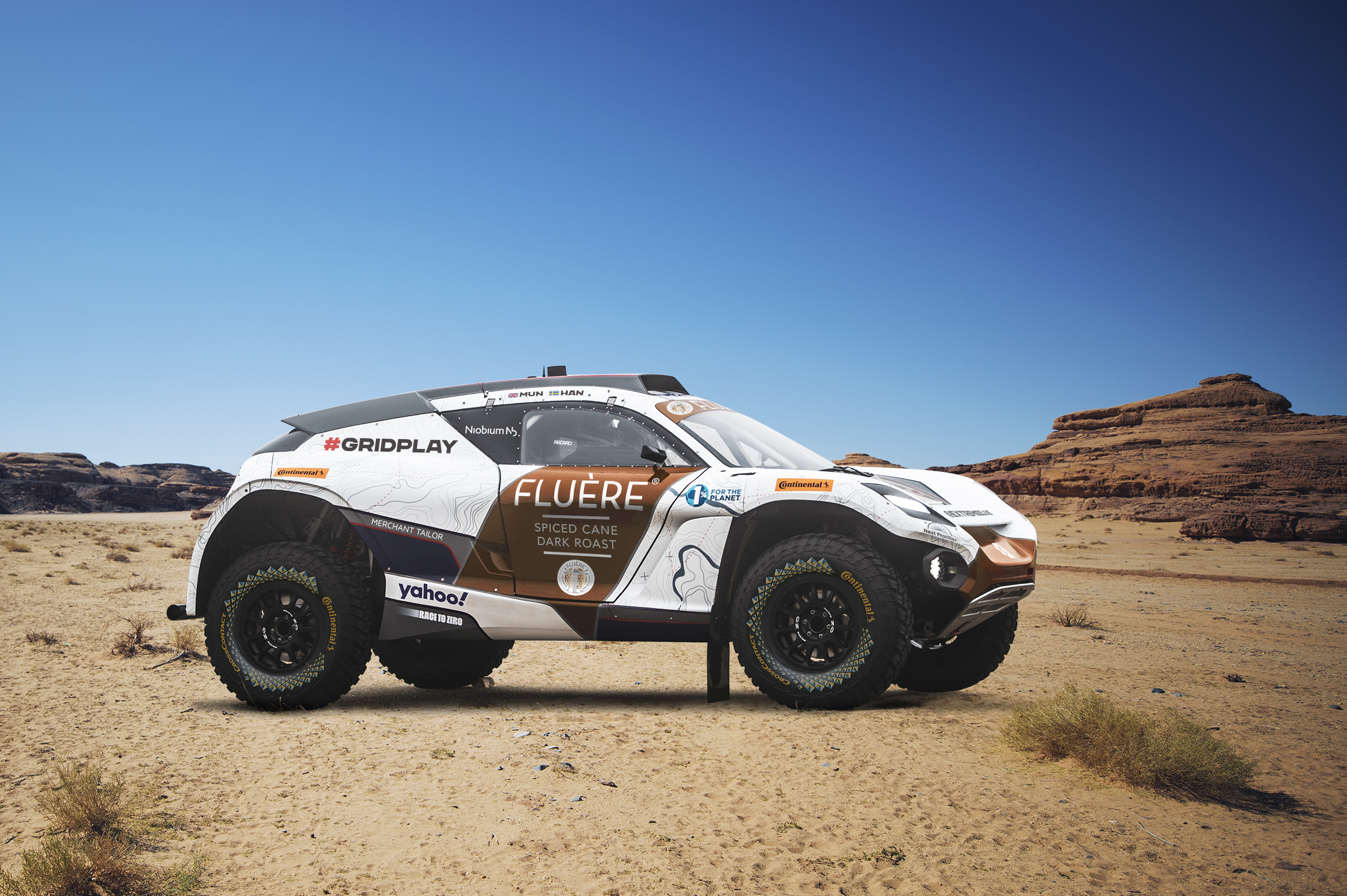 Next Frontier Brands' FLUÈRE Signs as Principal Partner of Andretti United Extreme E