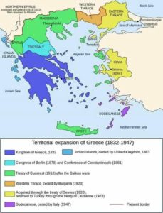 Territorial expansion of Greece