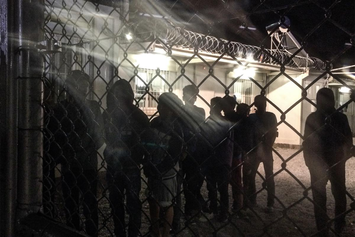 Greece in Denial About Police Detention of Lone Kids