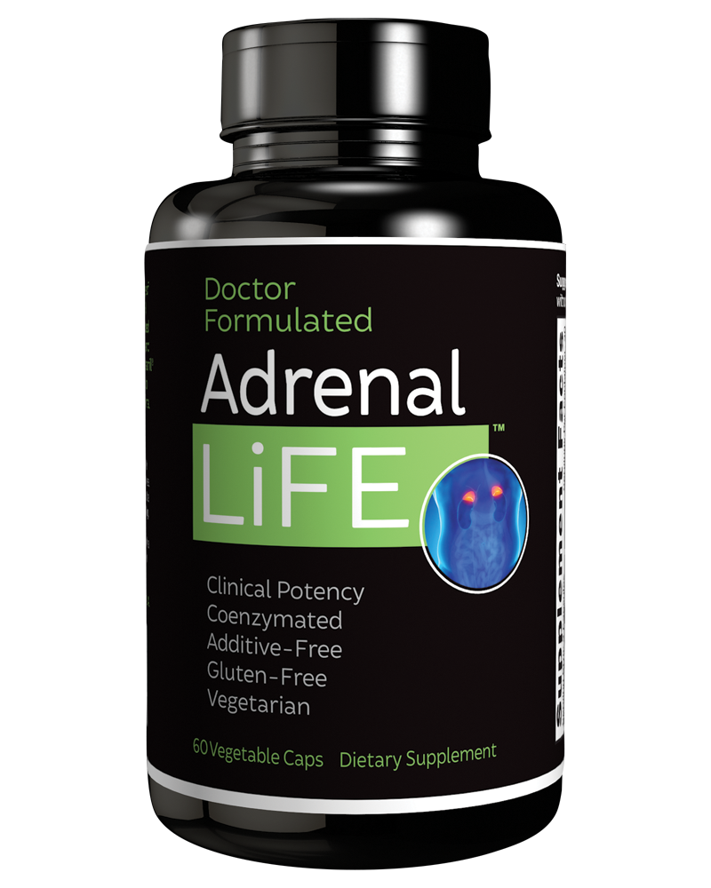 Adrenal Life Package Design 800x1000