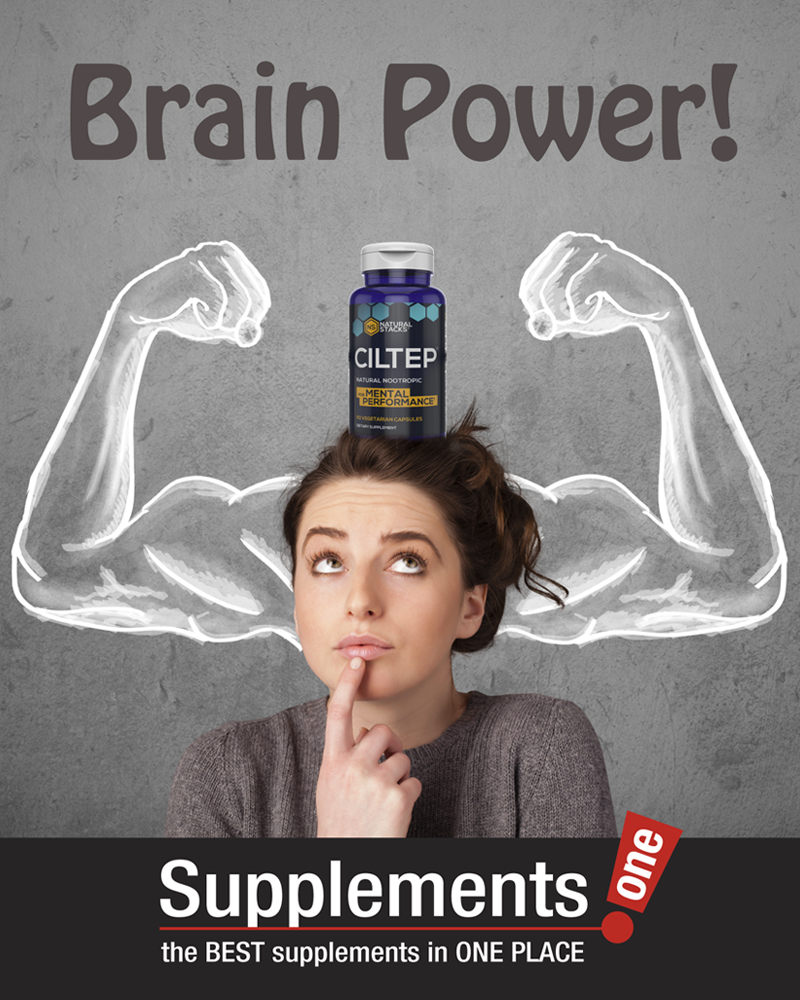 Supplements One Brain Power Ad 800x1000