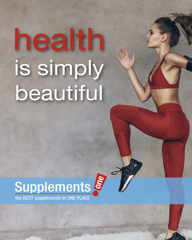 Supplements One Health is Beautiful Ad 800x1000