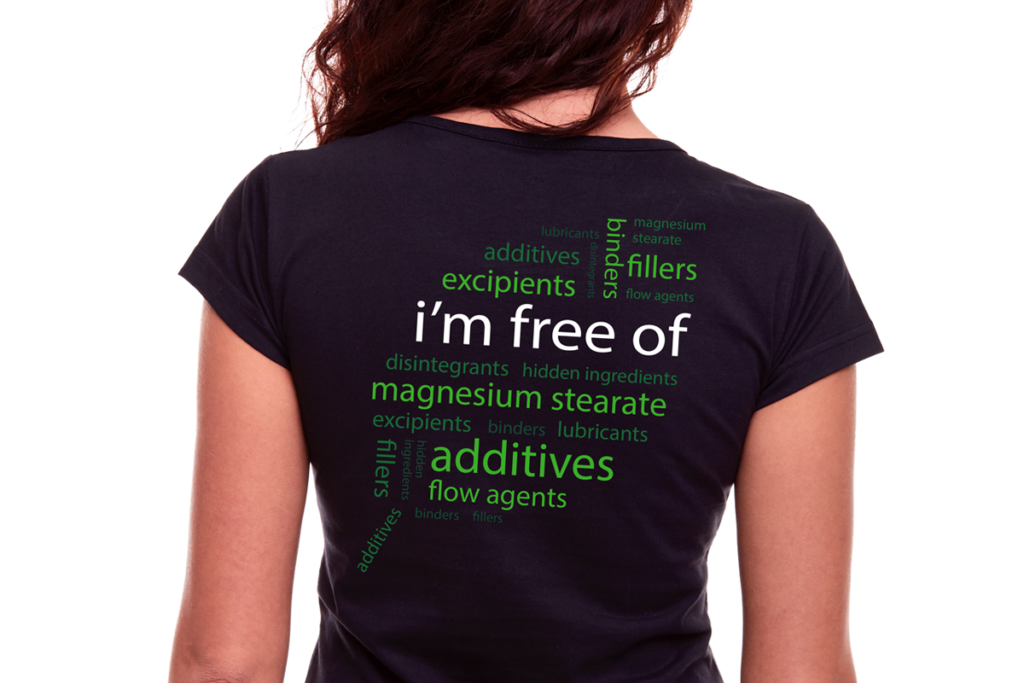 Emerald Labs Im Free T-Shirt Back Image