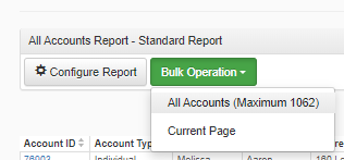 Bulk Accounts Operation